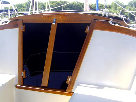 Custom Teak Yacht Interior
