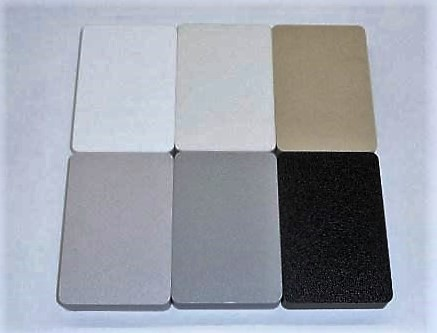 Starboard plastic color options for boat table designs